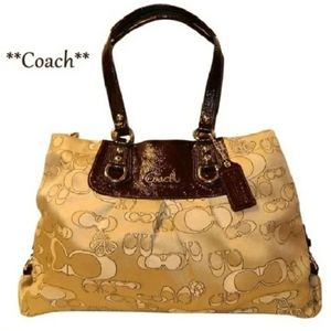 Limited Edition *COACH Ashley Butterfly Optc Satch
